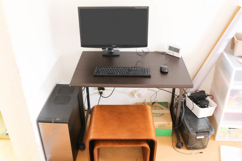 旧PCデスク